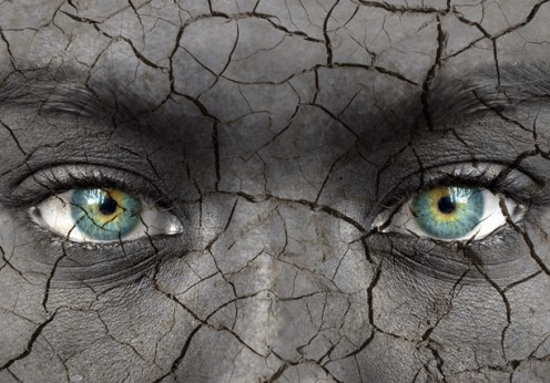 dry skin gorgeous eyes image on the green divas