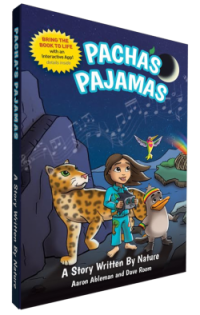 Pachas Pajamas Book on the green divas