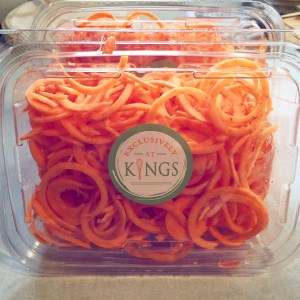 Kings food markets spiralized sweet potato