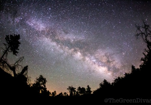 sleep better night sky for green divas post on light pollution