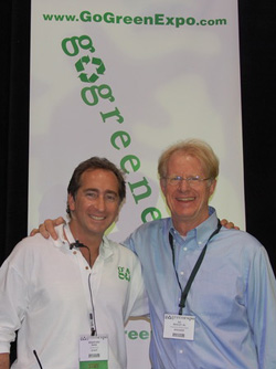 Bradford Rand and Ed Begley, Jr.