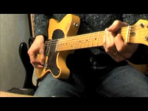 Guitar video soundseeing: Rittenhouse Telecaster (@AbeRittenhouse)