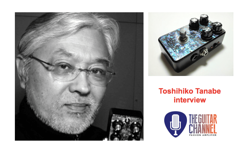 Toshihiko Tanabe from @tanabetv, pedal boutique builder for Robben Ford and Larry Carlton