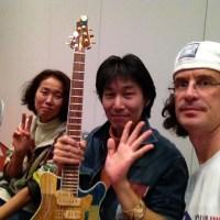 Japanese luthier Kaz Goto (Jersey Girl Homemade Guitars)