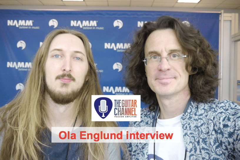 Ola Englund (@FearedSe) interview at the 2015 @NAMMshow