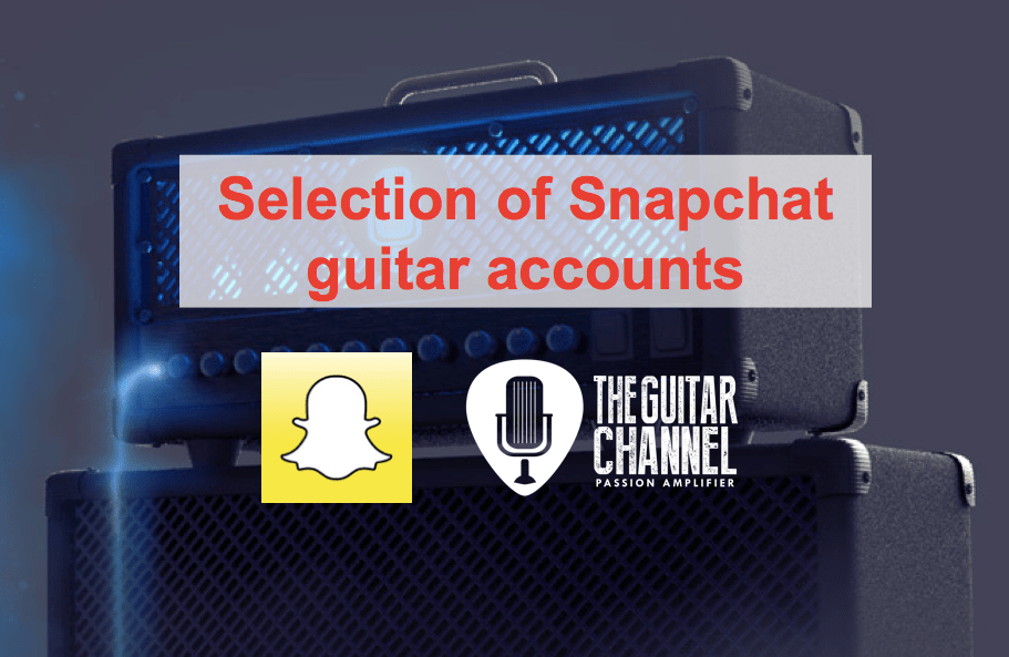 Snapchat guitar accounts to follow