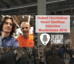 Hubert Hochleitner interview (Hoovi Deeflexx) at the 2016 Musikmesse