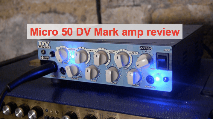 DV Mark Micro 50 review: a great sounding solid state head