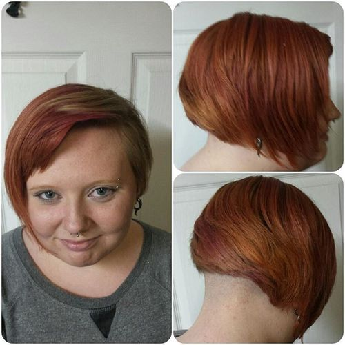 awesome women's undercut