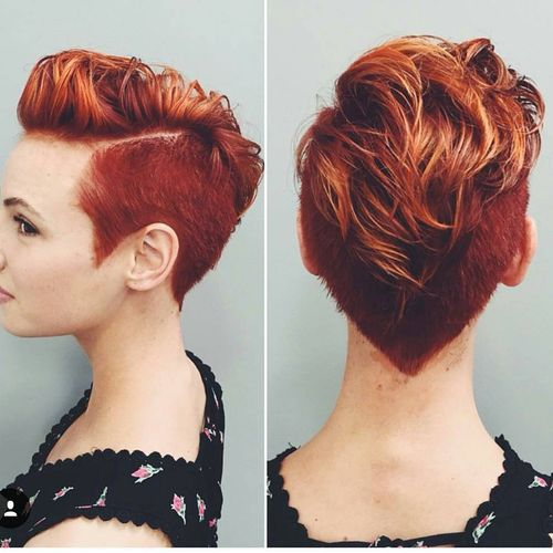 30+ Really Cool Short Red Hairstyles and Haircuts