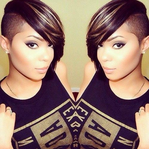Creative Black Fancifully Great Undercut