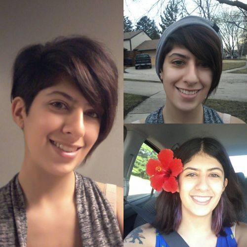 Pretty Dark Brown Pixie Haircut with Bangs on One Side