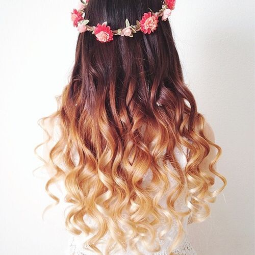 40  Stunning Ombre Hairstyle Ideas for Long Hair Lovely dark hair with blonde ombre for long hair