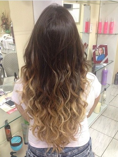 40 stunning ombre hairstyle ideas for long hair - Ombre hair blond selber machen ...