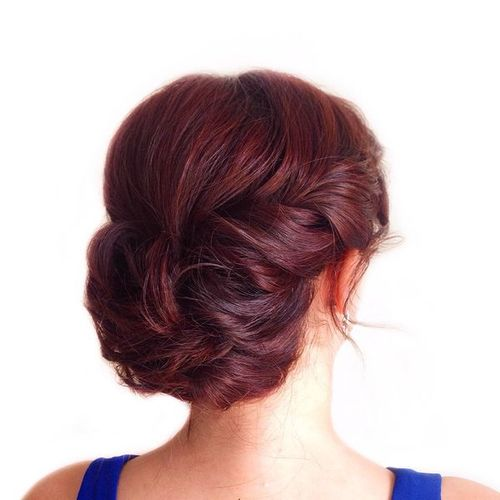 Side Updos for Medium Hair
