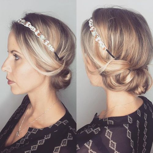 Simple Updos for Medium Hair at Home