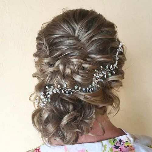 Sophisticated Updos for Medium Hair