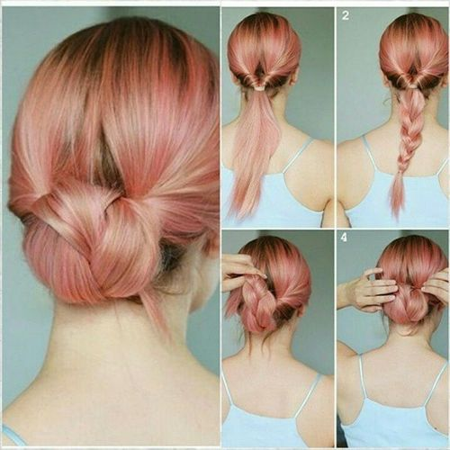 easy updos medium length