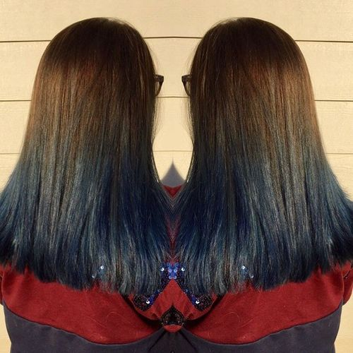 Good blue ombre