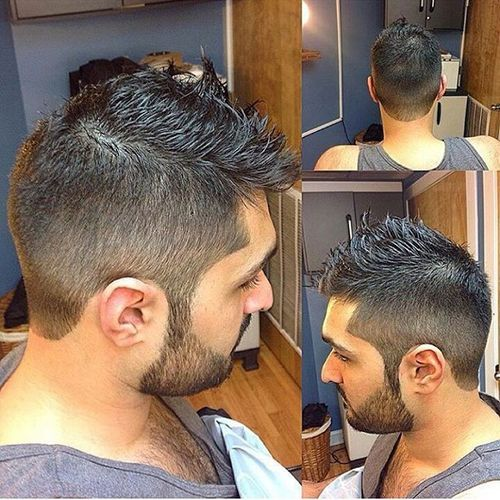 Light Fade Fohawk