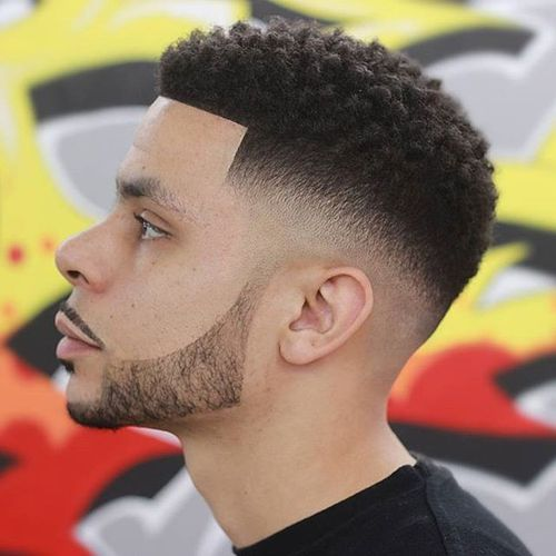 Best Taper Fade Haircuts For Men - Drake afro hairstyle