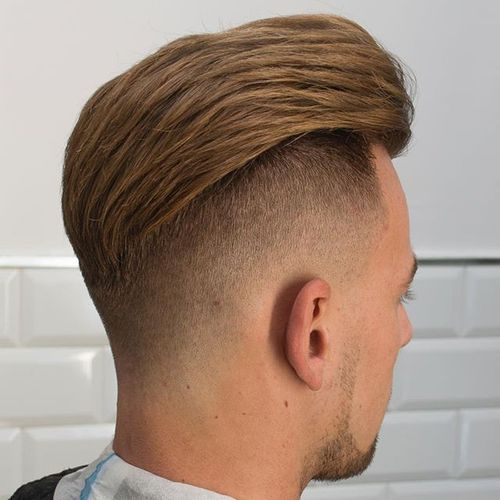Elegant High Undercut
