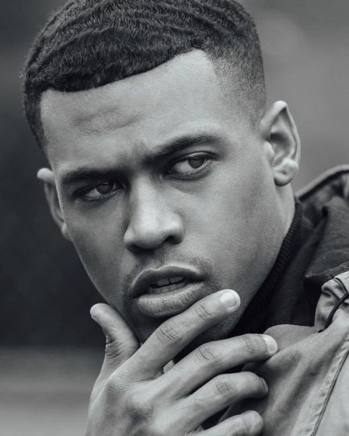black males short hairstyles