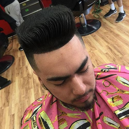 Flattop for Straight Hair