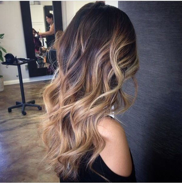 The Far-Fetched Amalgam of the Curly Hair and Balayage