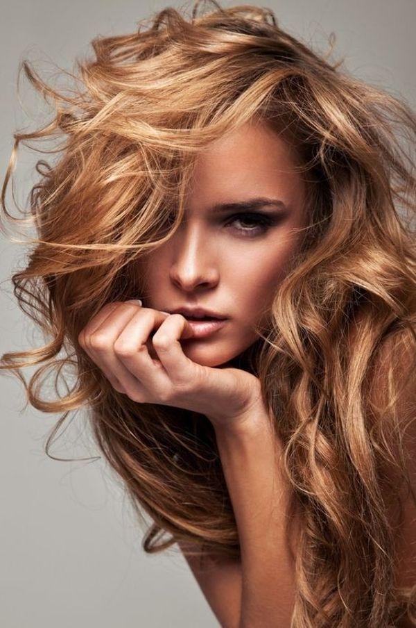 30 brown hair with highlights the sunkissed highlights for the messy light brown strawberry hair pmusecretfo Images