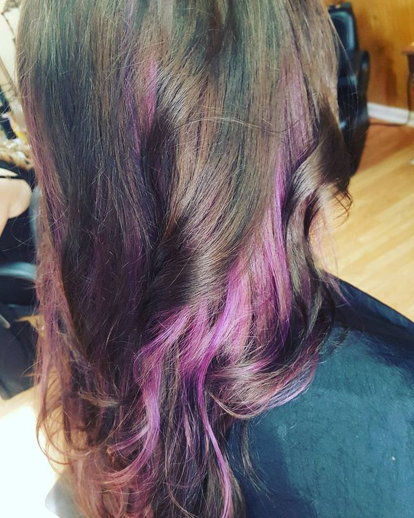 Pink Highlights for Bright Chick