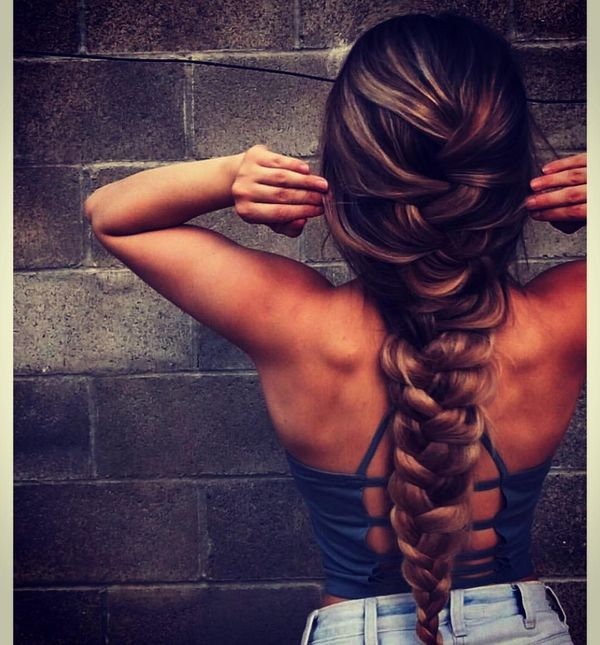 Loose Braids and Waves for Super Long Hair