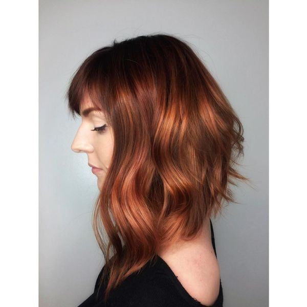 Charming asymmetrical lob
