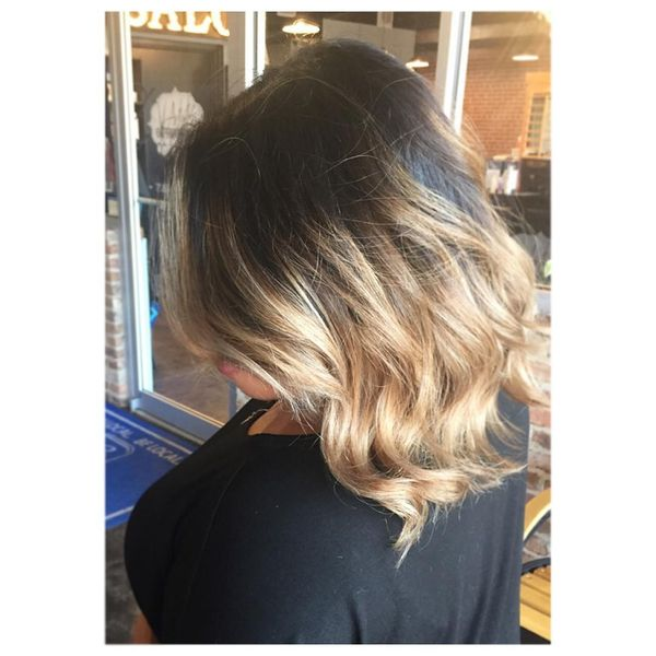 Voluminous ombre