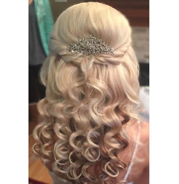 Fabulous Golden Locks for Glory Bride