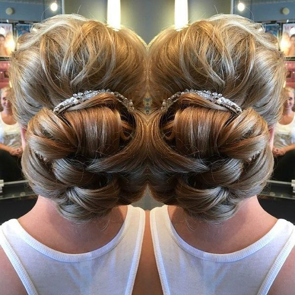 Chick Volume Bun for Wedding