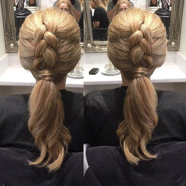 Braided Ponytail Summer Look