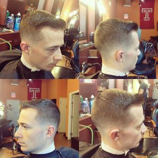 1 Short Side-Swept Cut