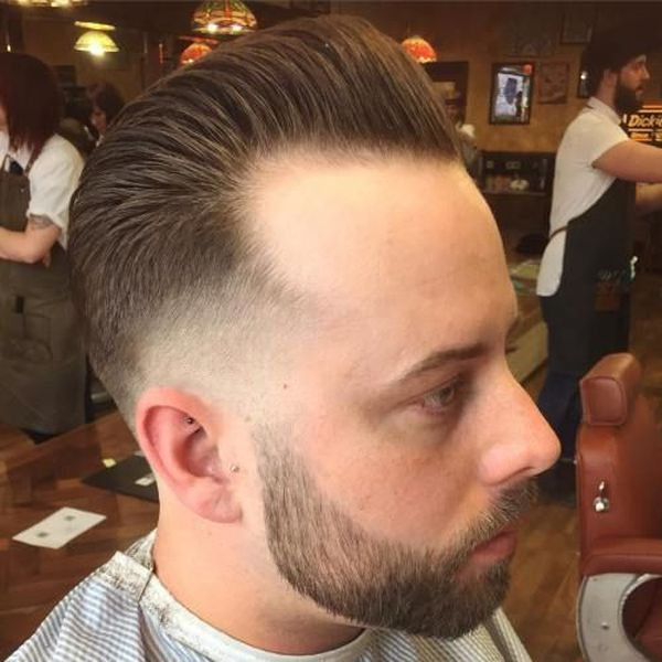 11 Cool pair classic pompadour and beard