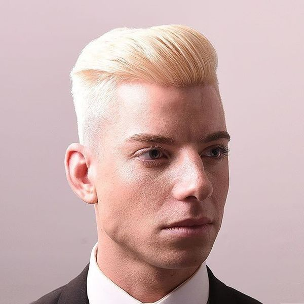 Comb Over for Burning Blond