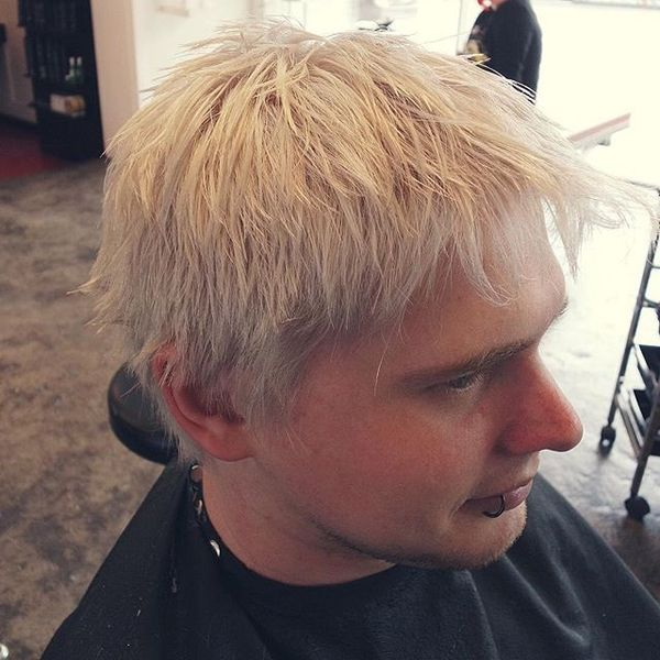 Bleached Blonde And Textured Layers