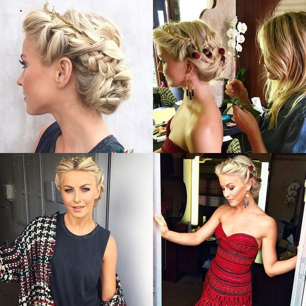 Complicated updo