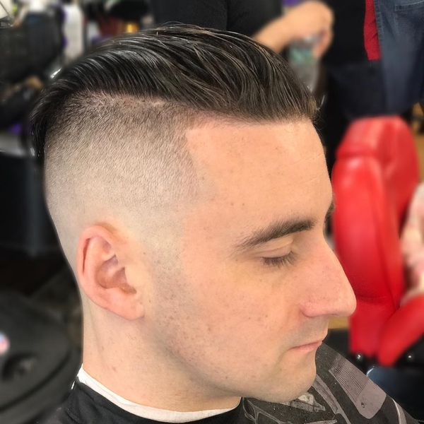 The hipster-inspired high and tight haircut
