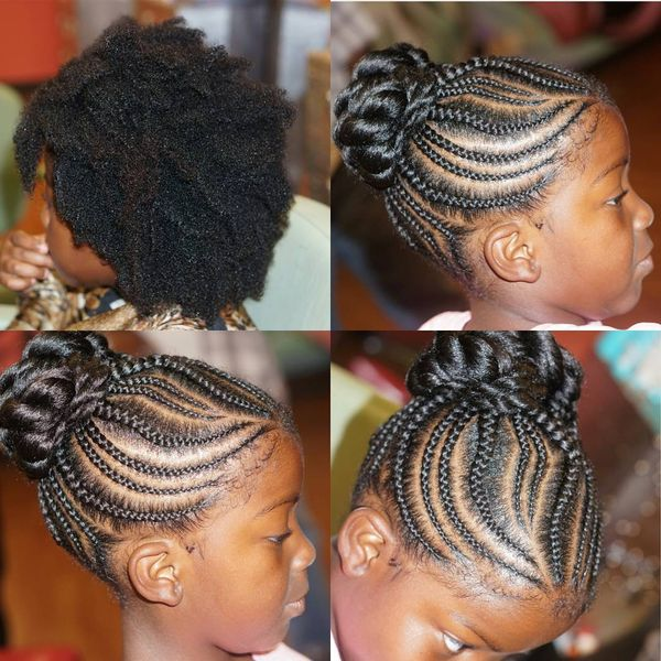 Cornrows Coming into Fabulous Twisted Braided Arrangements2
