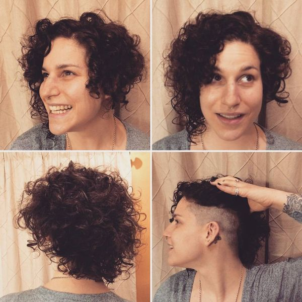 Curly Crown with a Secret Shaved Temple2