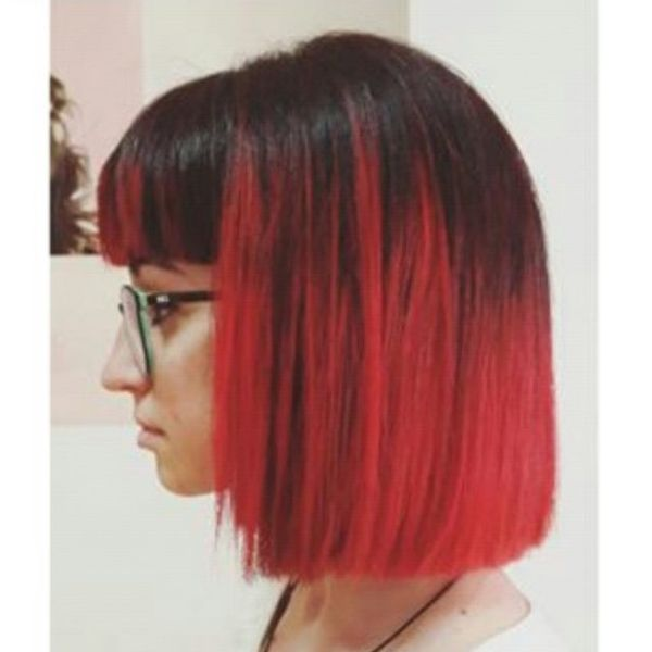 Fantastic Bright Bob with a Modern Twist