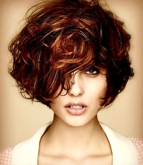 Messy Colorful Bob with Bangs0