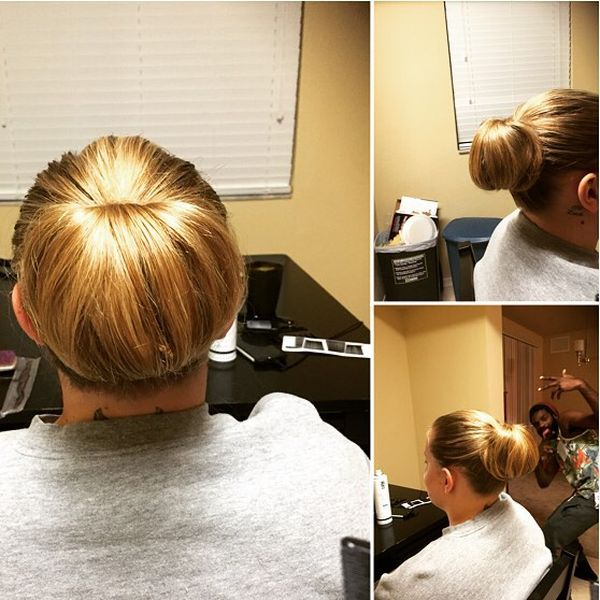 Sleek & Elegant Chignon Hairstyle