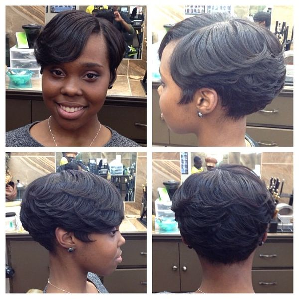 Textured Pixie Cut with Side Bangs1