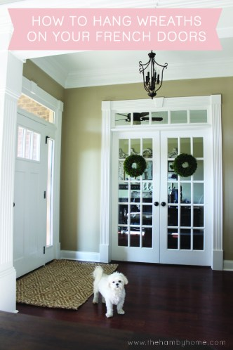 how-to-hang-wreaths-on-your-french-doors